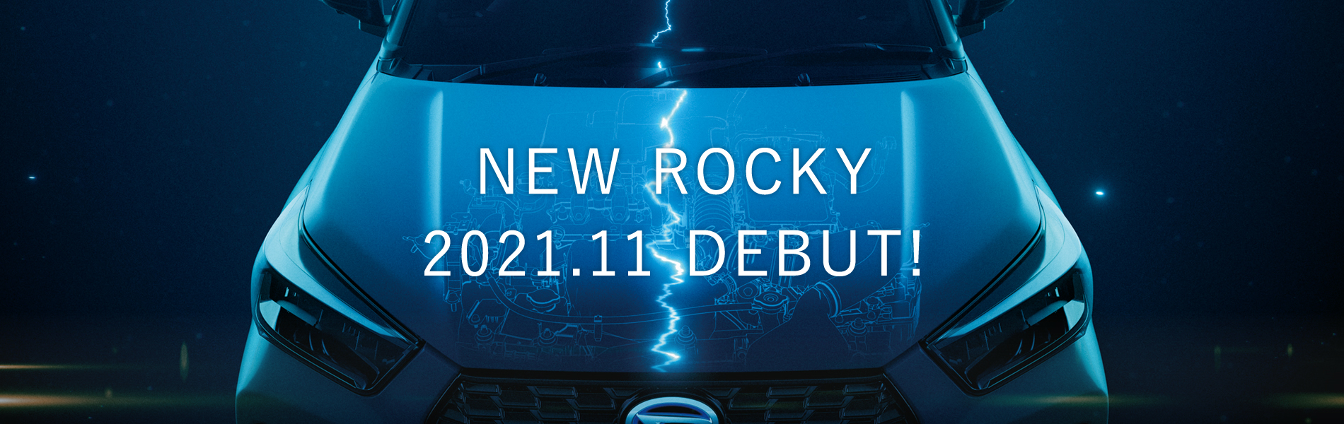 NEW ROCKY 2021.11 DEBUT!